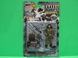 Elite Force 1/18 Army Snake Rooney US Army Ranger Action Fig