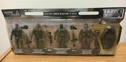1:18 BBI Elite Force NAVY SEALS FIRE TEAM Figure Soldier Set