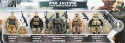 1:18 BBI Elite Force Special Ops Navy Seals and Delta Force