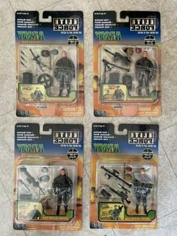 1/18 Elite Force Army Desert Ops, Lot 4 Figures