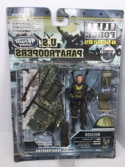 1/18 BBI Elite Force U.S. Paratrooper 82nd Airborne .50 Cal