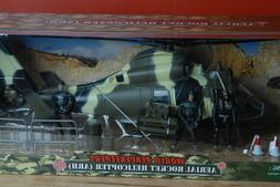 1:18 Elite World Peacekeepers GI Joe Aerial Rocket  Helicopt