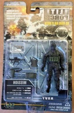 1/18 Scale BBI Elite Forces Navy Delta Force Action Figure M