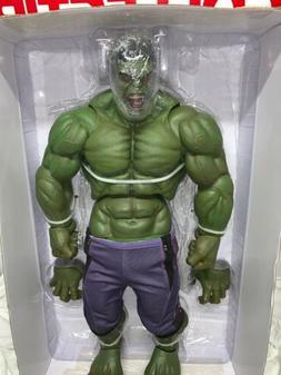 "NECA 1/4 Scale Hulk 24"" Complete Age Of Ultron Hulk Huge Mar"