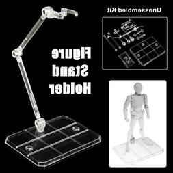 1/4X Action Figure Base Stand Holder Display For Bandai HG/R