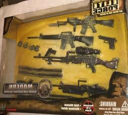 BBI 1/6 12 Inch Modern Desert Ops Support Weapon Toy Set! El