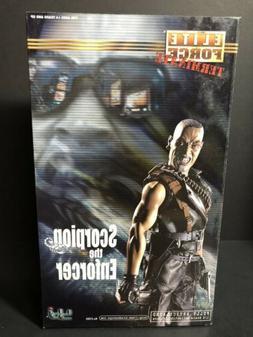 """1/6 BBI 12"""" Elite Force Scorpion The Enforcer Action Figur"""