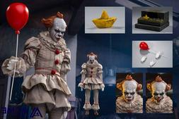 1/6 IT Pennywise Figure USA Acme Toys Dancing Clown Action N