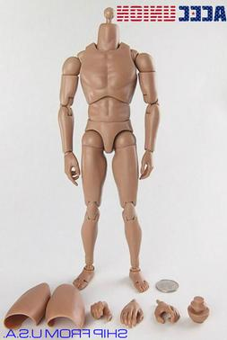 1/6 Male Figure Body Narrow Shoulder Ver 4.0 For Hot Toy TTM
