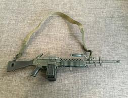"""1/6 Scale 12"""" Vietnam War US M60 Machine Gun for Action Figu"""