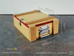 1/6 scale DELUXE Wooden Ammo Crate Box WACB-003