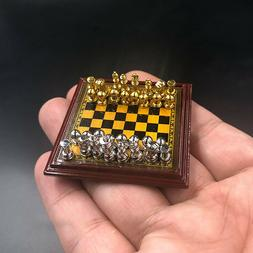 1/6 Scale DIY Scene Accessories Chess Model Toy Metal Set  f