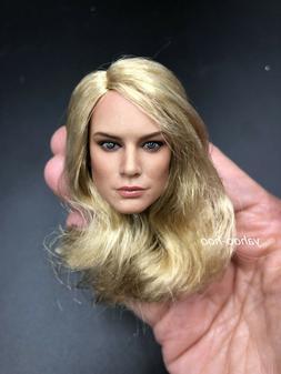 1/6 scale Head Sculpt B Captain Marvel Brie Larson for 12''