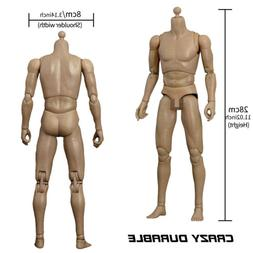 1/6 Scale Narrow Shoulder WorldBox 12'' Male Body Action Fig