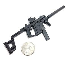 1/6 Scale KRISS Vector Submachine Gun US Army Miniature Toy