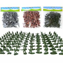 100pcs pack mini soldier font b model