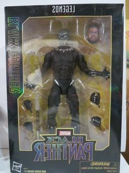 Marvel Legends 12 inch Black Panther figure MIB Chadwick T'C