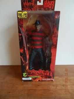 "MEZCO 12"" INCH FREDDY KRUEGER NIGHTMARE ON ELM STREET NEW De"