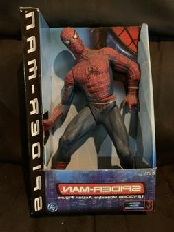 """12"""" Spider-Man Movie Action Figure New in Package Complete 1"""