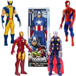 "12"" The Avengers Action Figure Marvel X-man Spider-Man Iron"