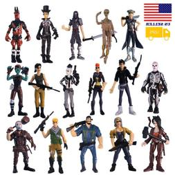 16Pcs Fortnite Skull Character Toy Game Action Figure Model