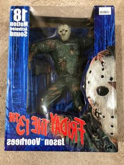 Neca 18 Inch Friday The 13th Jason Voorhees Motion Activated