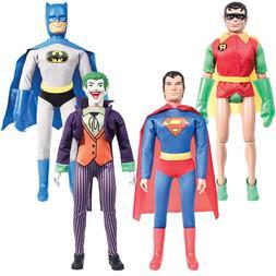 18 Inch Retro DC Comics Action Figures: Set of 4