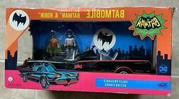 Funko 1966 Batmobile w/ Batman & Robin Figures Set Toy NEW F