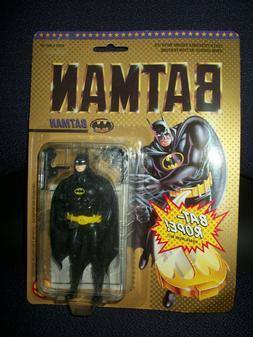 "1989 Toy Biz 5"" Batman Figure with Bat Rope - Sealed in Orig"