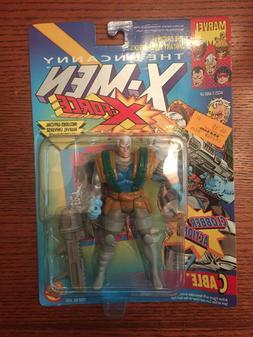 MARVEL 1992 TOYBIZ CABLE ACTION FIGURE THE UNCANNY X-MEN X-F