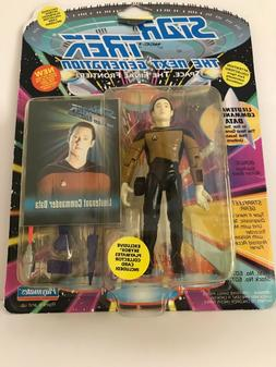 1993 Star Trek Next Generation Lt. Commander Data action fig