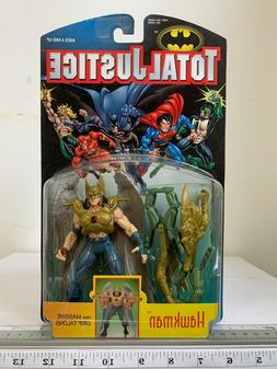 1996 Kenner DC Comics Total Justice Hawkman W/ Talons Action