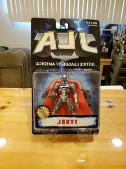 1998 Hasbro JLA Justice League of America STEEL Action Figur