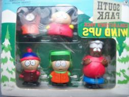 1998 South Park STAN KYLE KENNY CARTMAN CHEF Wind-Up Walkers