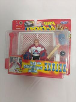 HASBRO 1998 Starting Lineup PRO Action Hockey Patrick Roy Co