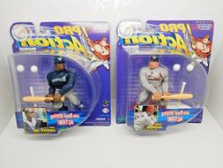 1998 Starting Lineup Pro Action Mark McGwire Ken Griffey Jr.