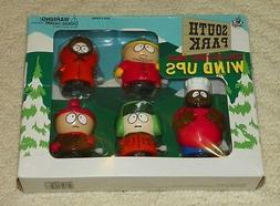 1998 South Park - Wind-Up Walkers - Set of 5 - Stan Kyle Ken