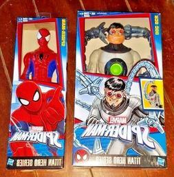 2 Marvel Spider-Man Titan Hero Series: DOC OCK & SPIDER-MAN