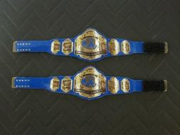 2 NWA Tag Team Custom Wrestling Figure Belts