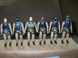 2002 Elite Force 1:18 Scale Army Desert Ops Figures lot of