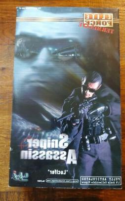 2002 Elite Force BBI Sniper Assassin Lucifer 12 inch Figure