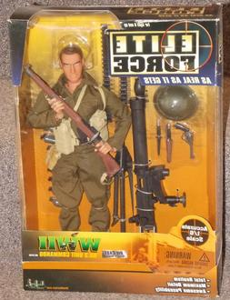 2002 Elite Force WW2 Unit Commando 1/6th Scale Action Figure