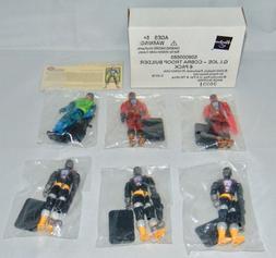 "2002 Hasbro GI Joe 3.74"" Cobra Troop Builder 6 Pack Action F"