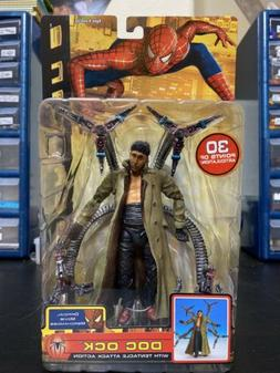 2004 Doc Ock Tentacle Attack Action Toy Biz Figure Spider-Ma