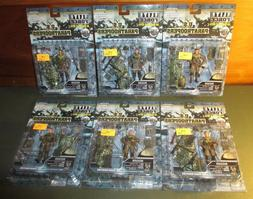 2005 Elite Force 1:18 Scale MOC US Paratroopers 82nd & 101st
