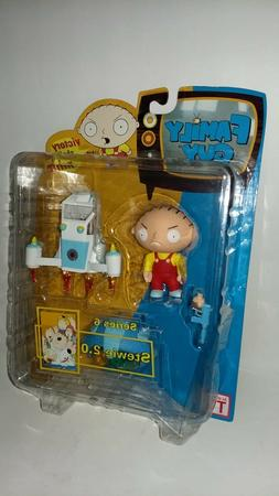 2005 Mezco Family Guy Series 6 Stewie 2.0 Action Figure New