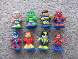 "2005 Mini 2"" MGA Action Figures Lot of 8 ~ Avengers Marvel C"