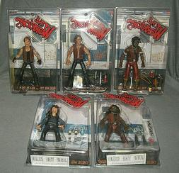 Mezco 2005 The Warriors SWAN ARCHER CLEON COCHISE & LUTHER B