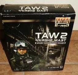 "2007 Elite Force 1/6 Scale 12"" LAPD Police SWAT Sheriff Acti"