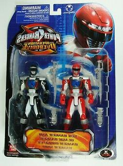 2007 Bandai Power Rangers Operation Overdrive Red & Black Ra